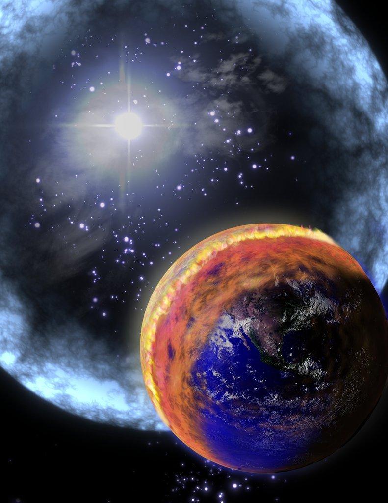 Земля вошла в рискованное облако астероидов— Конец света недалёко