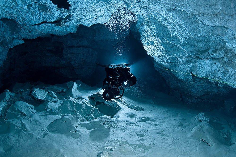 Подводную пещеру вБашкирии могут признать самой длинной вРФ