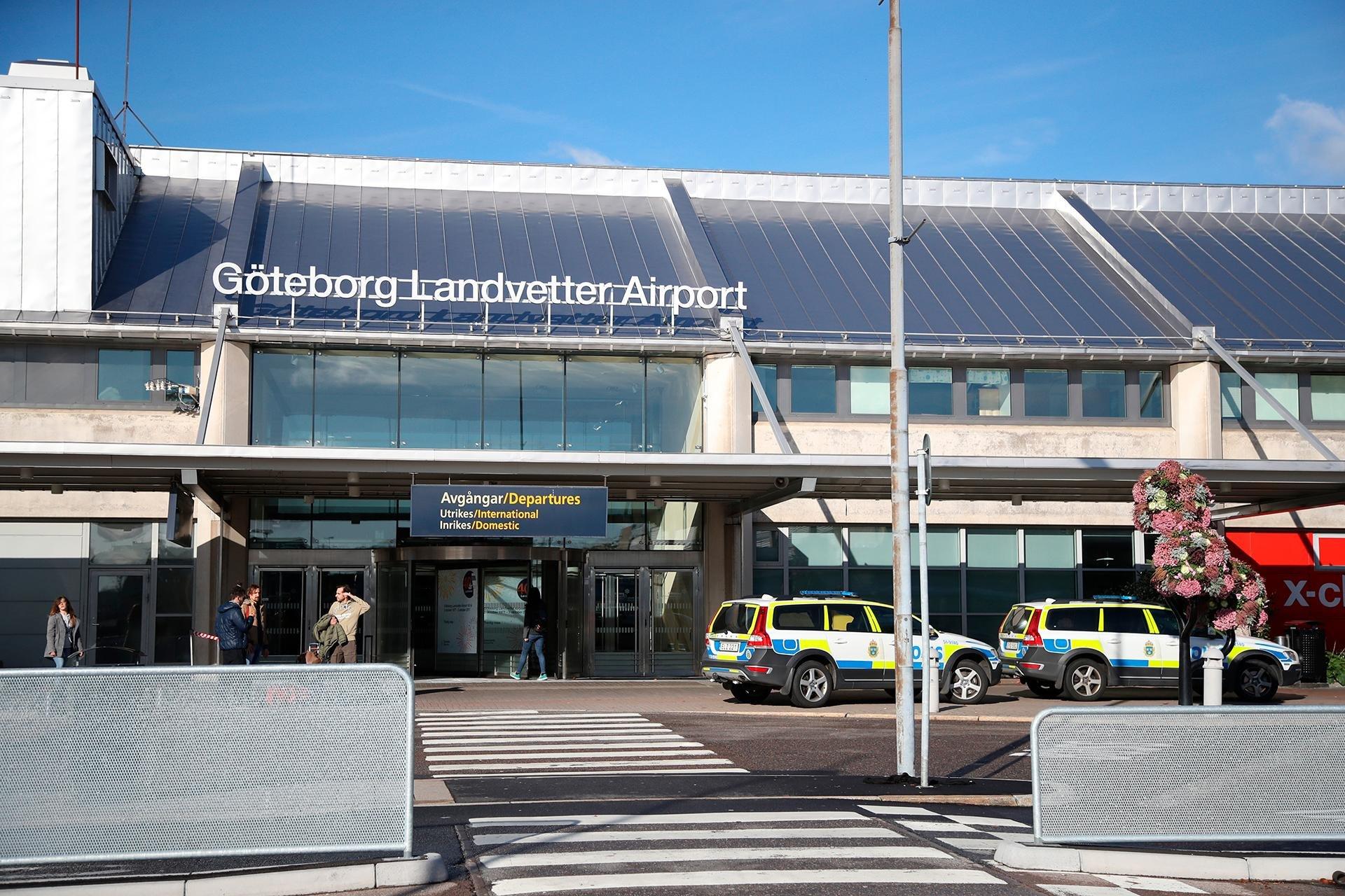 Ваэропорту Швеции упассажира изГермании отыскали взрывчатку