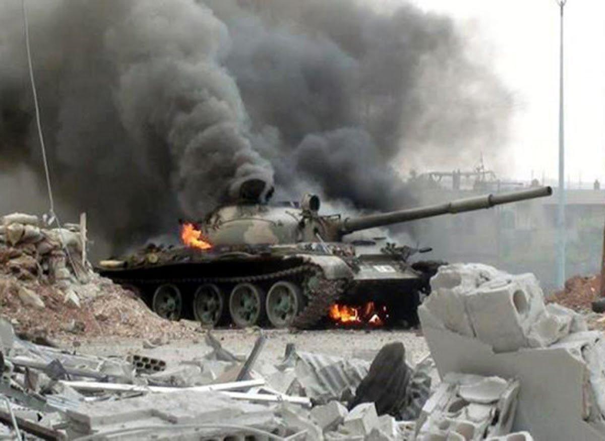 Боевики ДАИШ оказались вкотле вгороде Меядин— Сирийский Сталинград