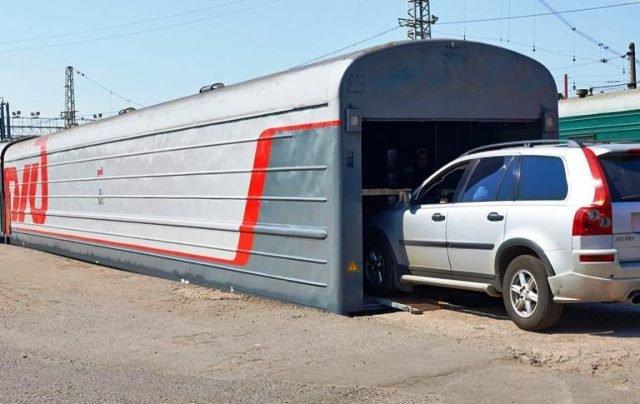 ИзКазани в российскую столицу отправился 1-ый вагон-автомобилевоз