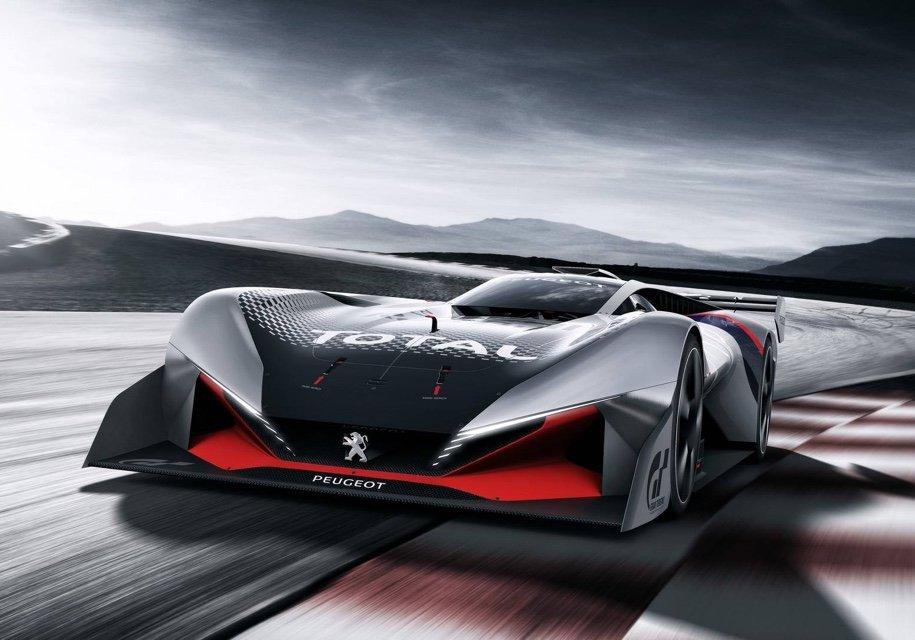 Суперкар Пежо получил неменее мощнейший мотор икрылья