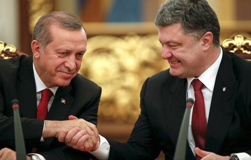 Эрдоган заснул напресс-конференции сПорошенко