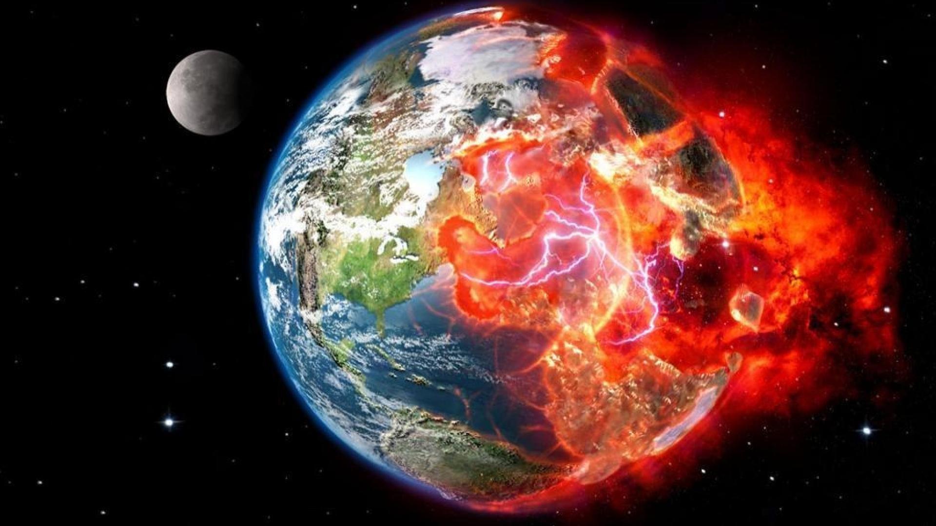 Ученые сообщили , что напротяжении  40 лет Солнце уничтожит Землю