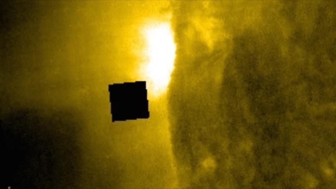 Уфологи поведали опоявлении огромного куба вблизи Солнца
