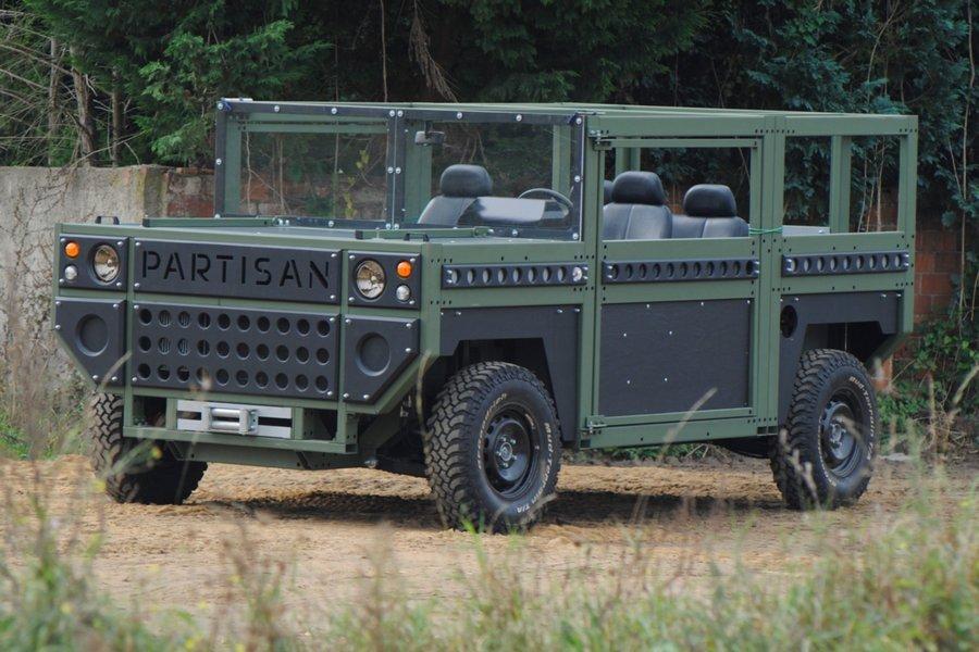 Немцы показали странный военный вседорожный автомобиль — Коробка наколесах
