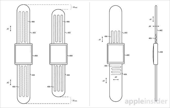 Apple получила патент насамозастегивающиеся смарт-часы