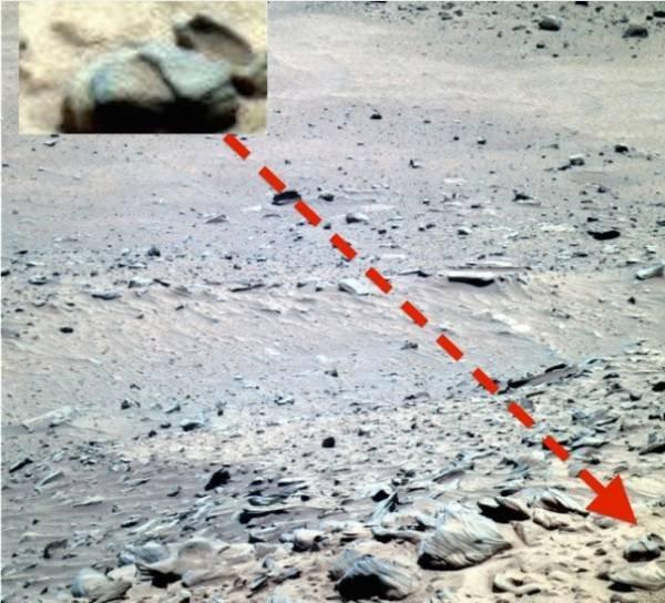 НаМарсе была найдена старинная чаша