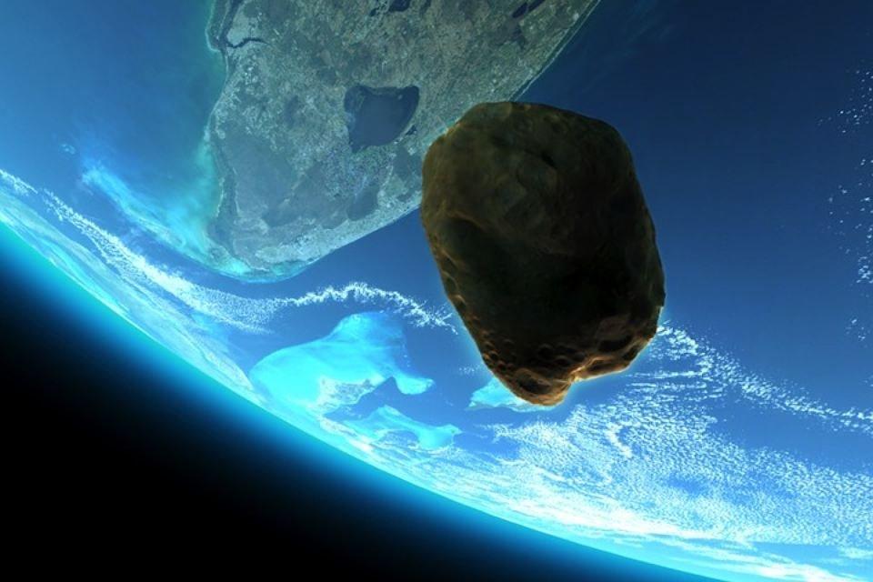 Вночь начетверг около Земли пролетит астероид
