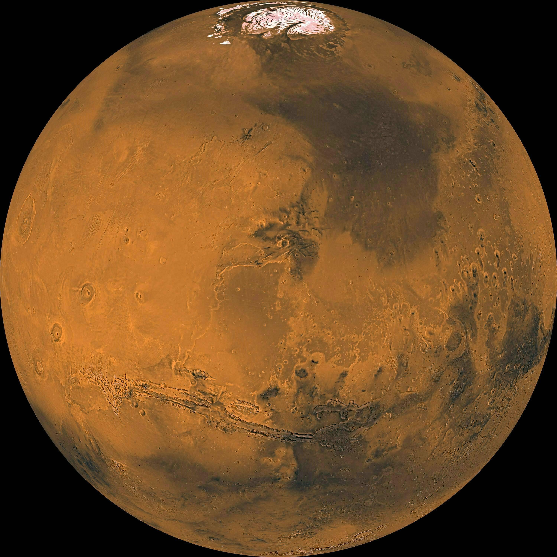 Исследователь: наМарсе разбился 18-километровый «звездолет»