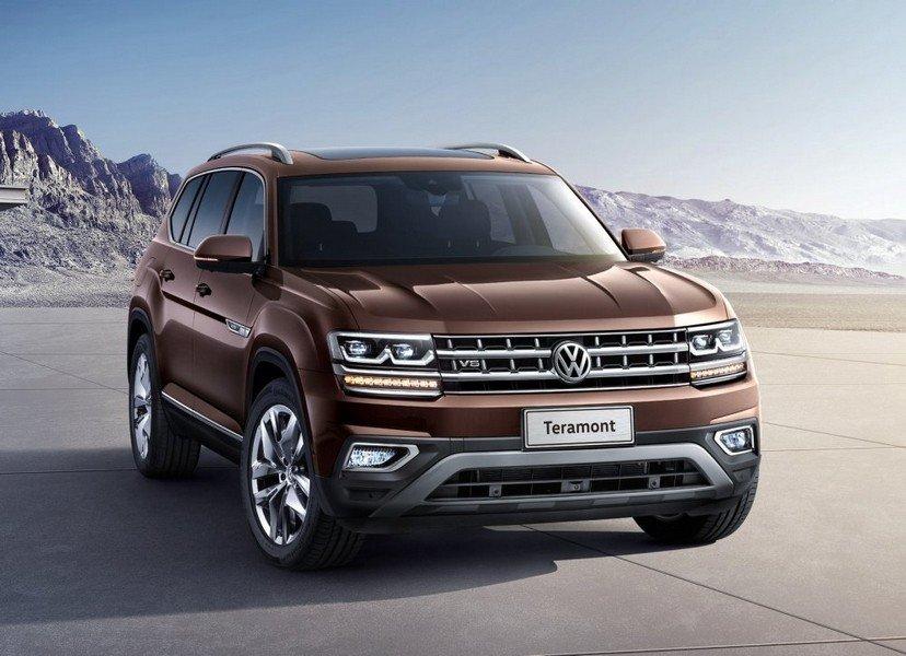 Весной 2018 года в Россию приедет кроссовер Volkswagen Teramont