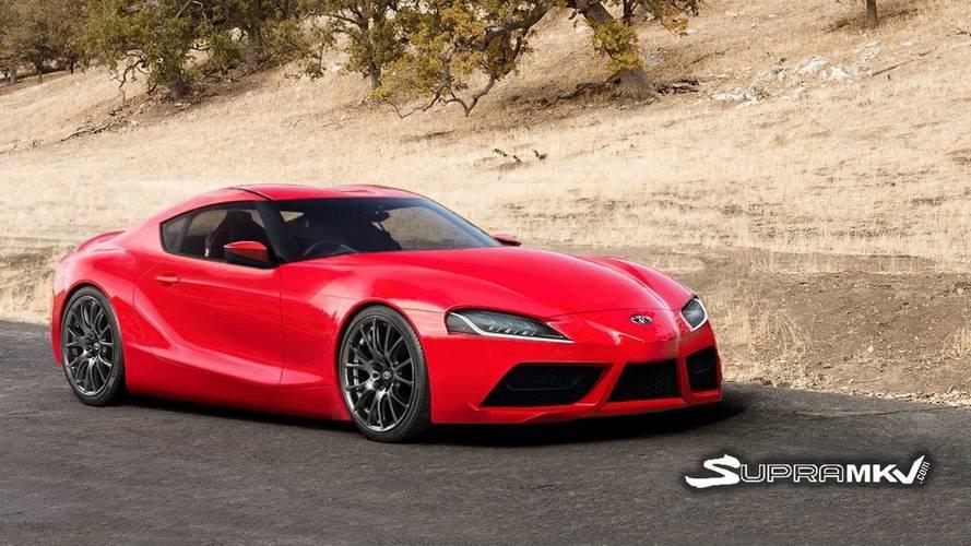 Размещены рендеры серийной версии возрождённого спорткара Тойота Supra