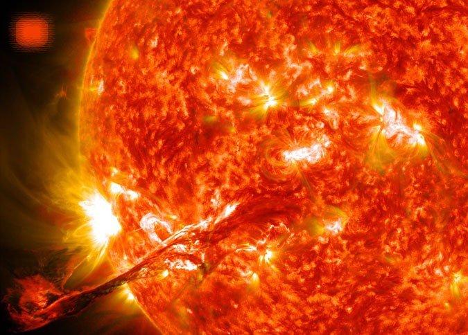 Ученые разгадали причину титанической температуры короны Солнца