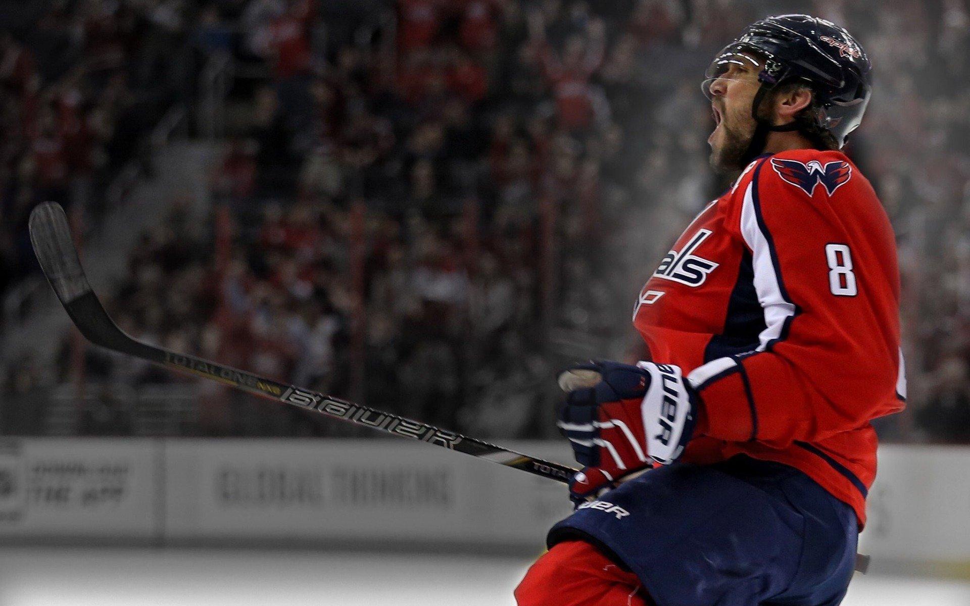 Чемпионат НХЛ. Овечкин разбушевался: русский форвард забросил восьмую шайбу всезоне