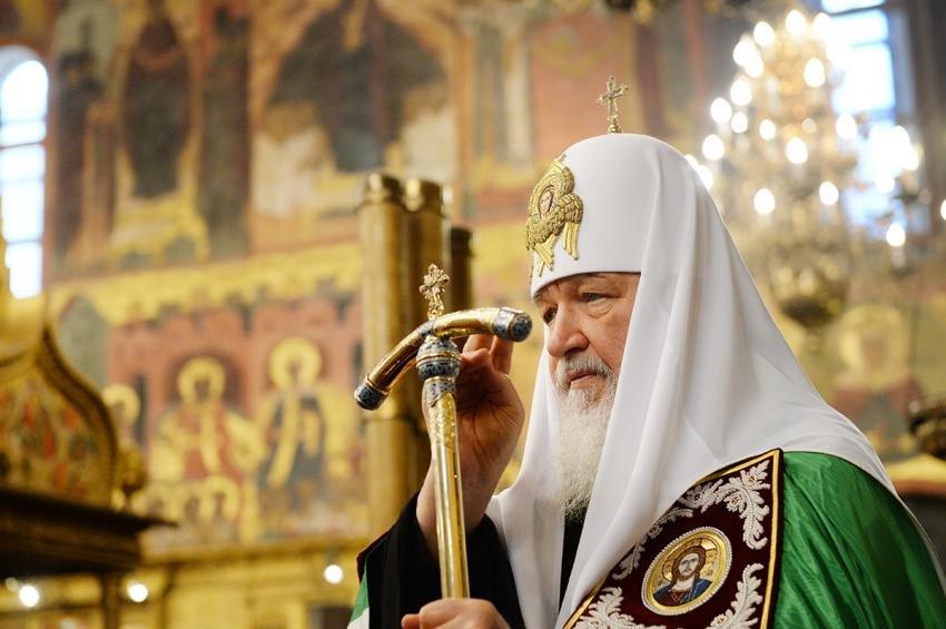 Патриарх Кирилл вспомнил обидеологических спекуляциях, рассуждая о«Матильде»