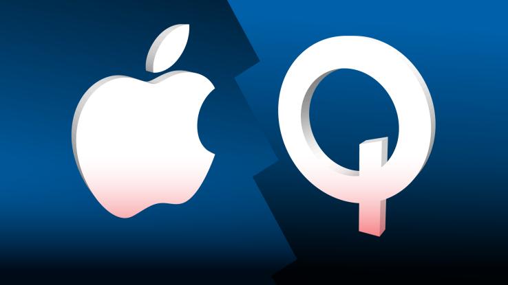 Qualcomm требует запретить реализацию ипроизводство iPhone в КНР