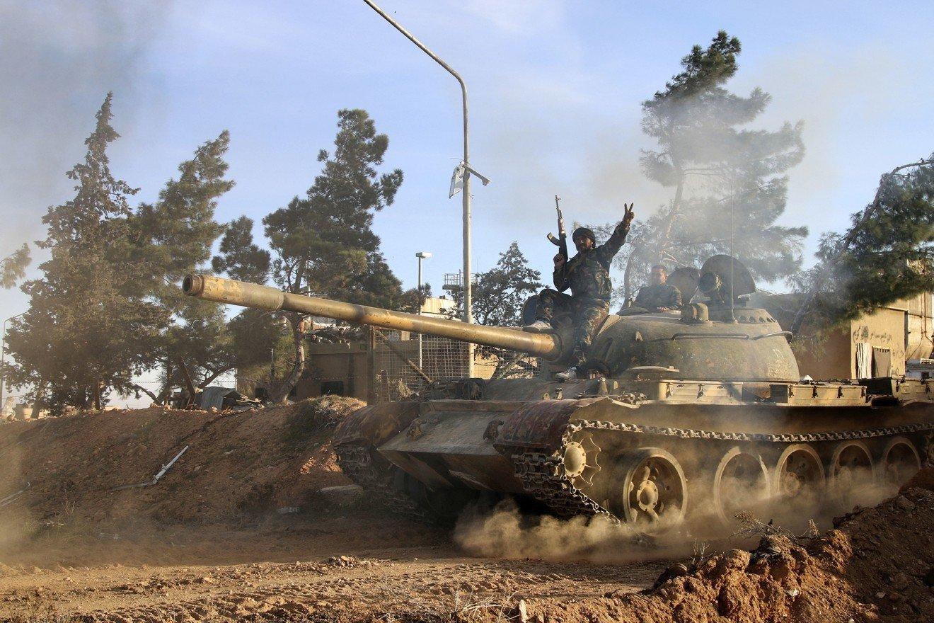 Сирийскую Эр-Ракку на100% освободили отИГ