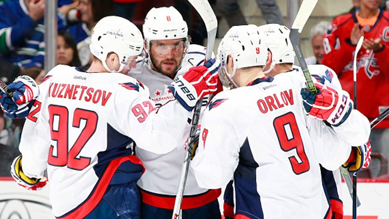 Русские хоккеисты Овечкин иКузнецов помогли «Вашингтону» обыграть «Нью-Джерси»