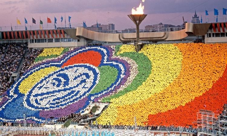 Церемония открытия Всемирного фестиваля молодежи началась вСочи