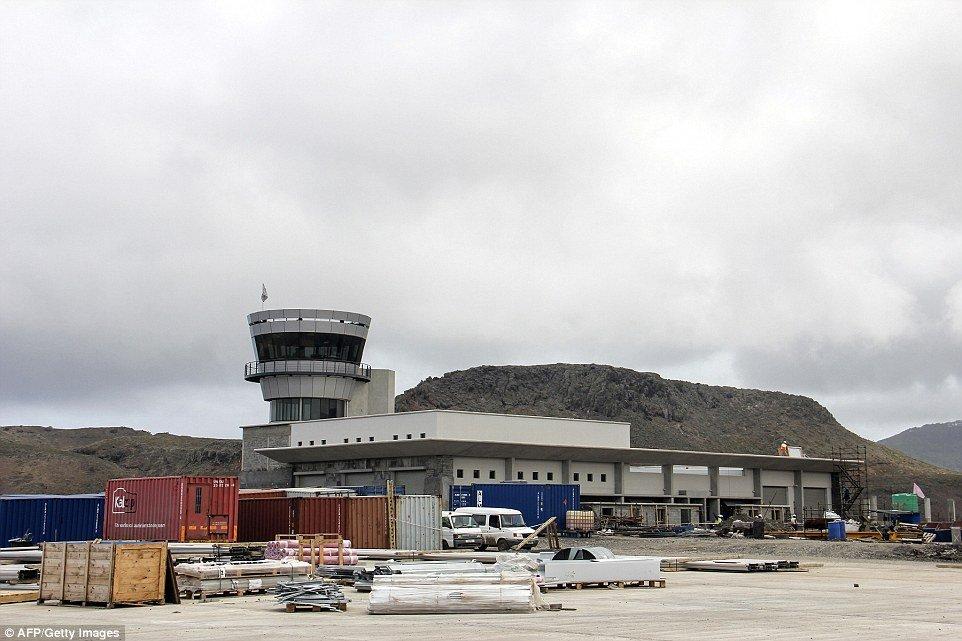 «Самый бесполезный аэропорт вмире» впервый раз принял постоянный рейс