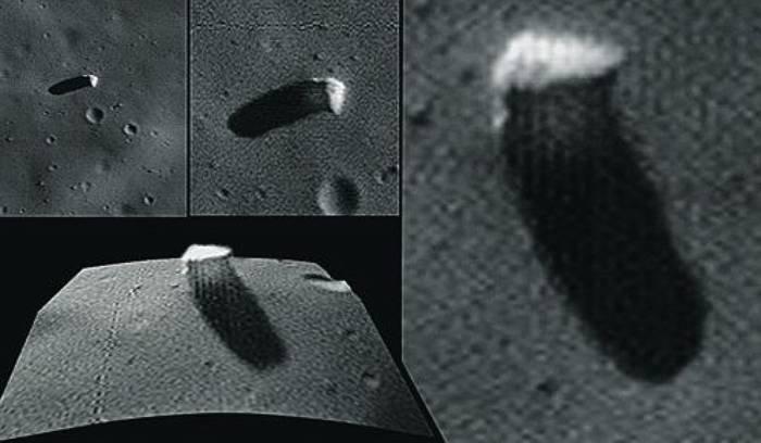Уфолог нашел наФобосе корабль пришельцев