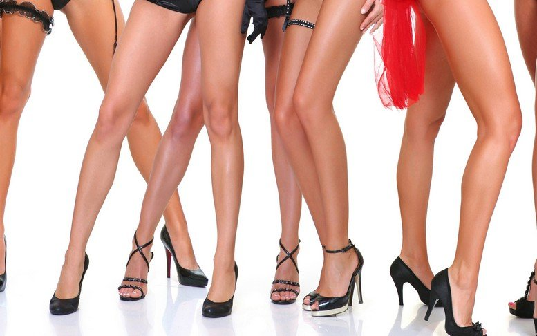 Самые сексуальные женские коленки