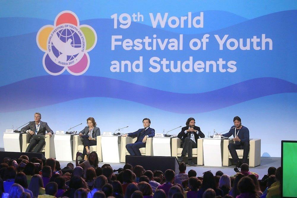 Известный писатель Фредерик Бегбедер посетил Всемирный фестиваль молодежи истудентов