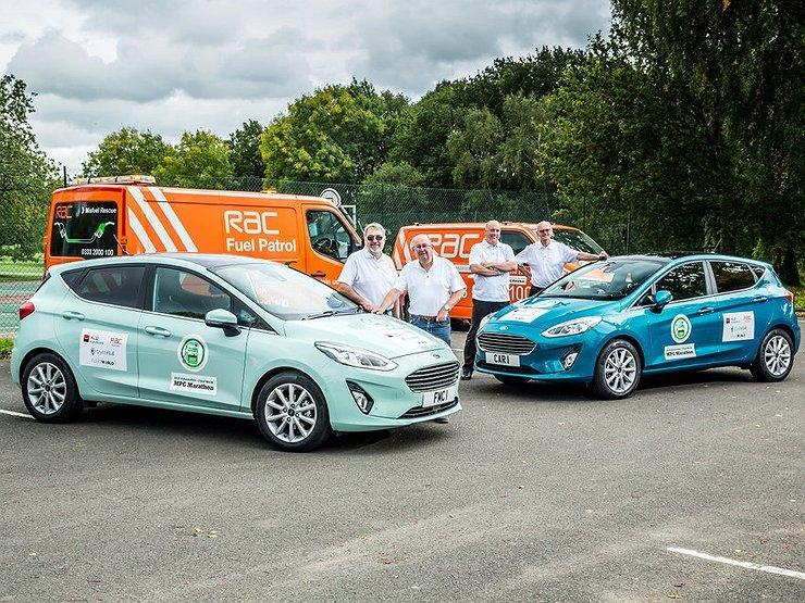 Форд Fiesta и Форд Ranger стали рекордсменами поэкономии топлива