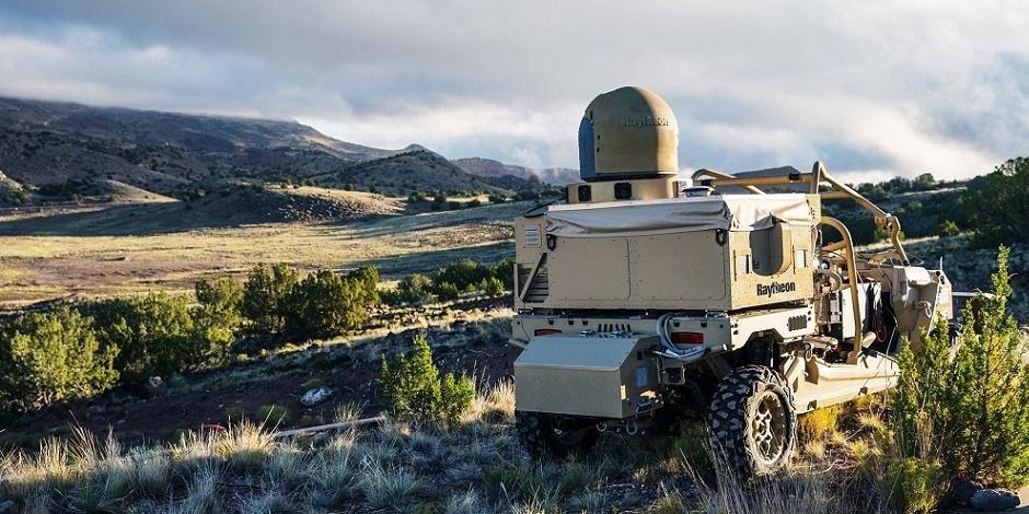 ВСША испытали мобильный боевой лазер