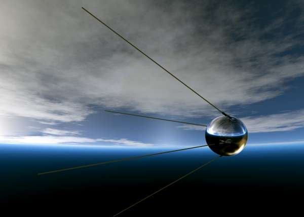 Советский спутник «Молния-1-44» сгорел над Южной Африкой