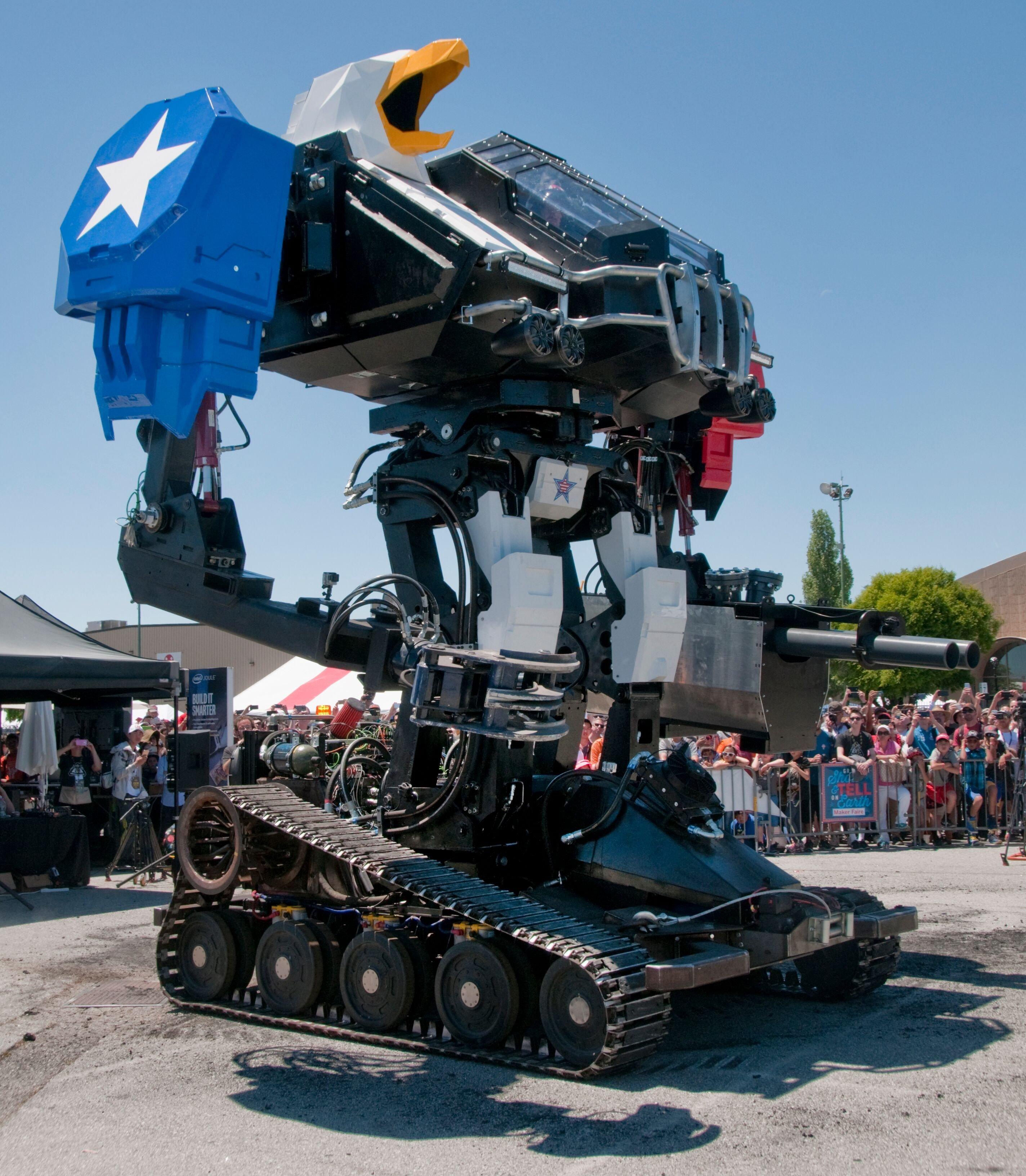боевые роботы картинки для презентации будет выглядеть