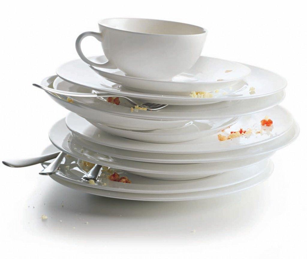 картинка гора посуды известен как