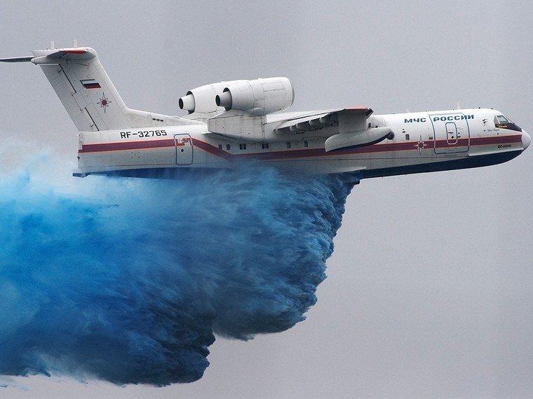 КабминРФ выделил МЧС два млрд руб.  нашесть самолетов-амфибий
