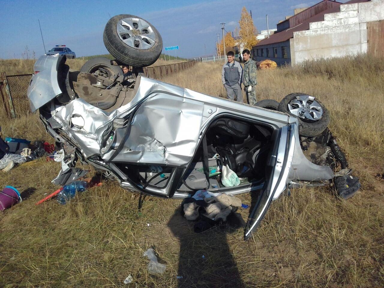 Под Иваново случилось смертельное ДТП, вкотором погибли три человека