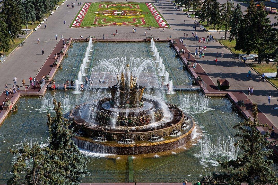 Нареставрацию фонтанов ВДНХ власти истратят 3,3 млрд руб.