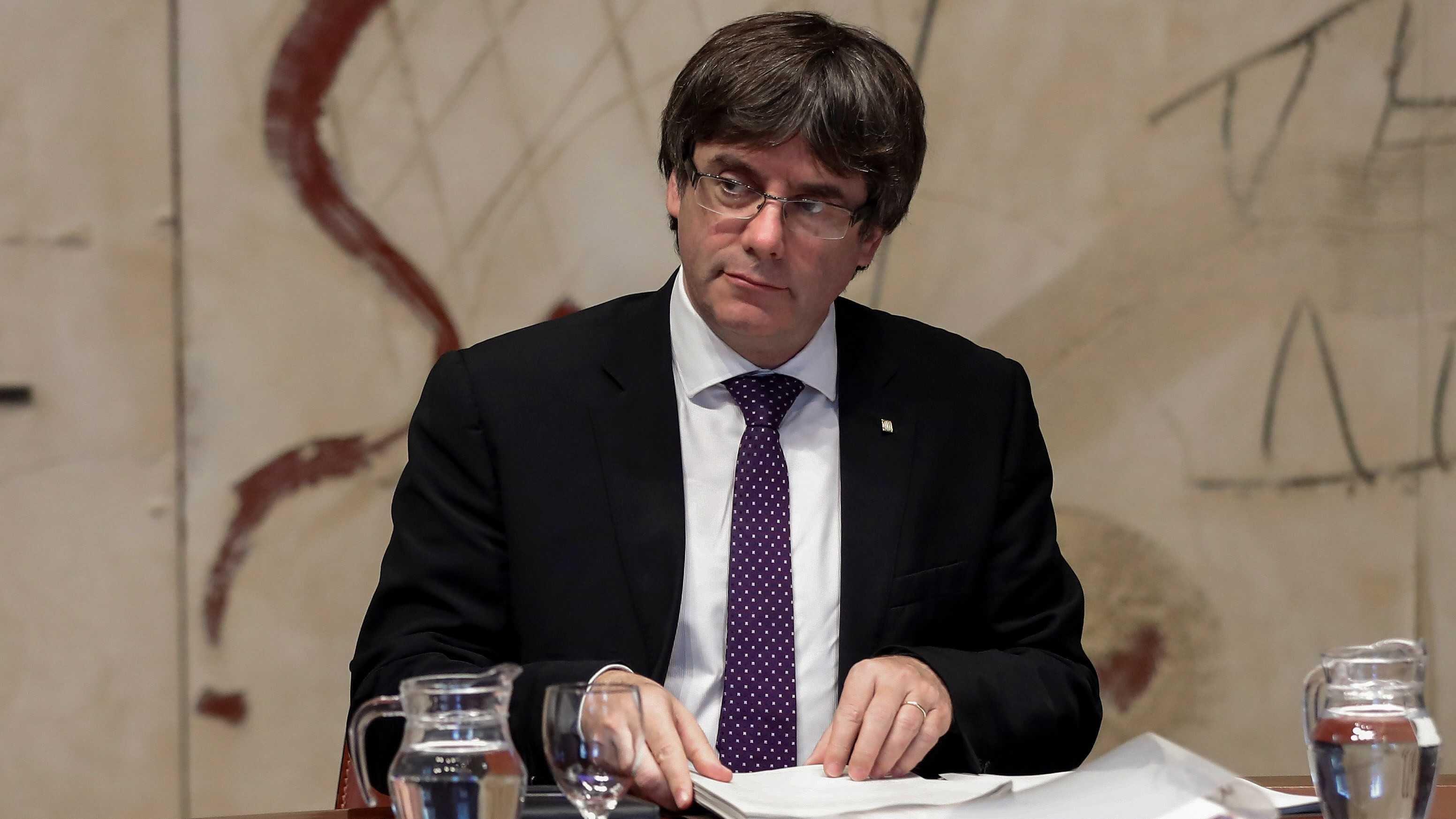 ВИспании сообщили, что лидер Каталонии потеряет все полномочия после решения Сената