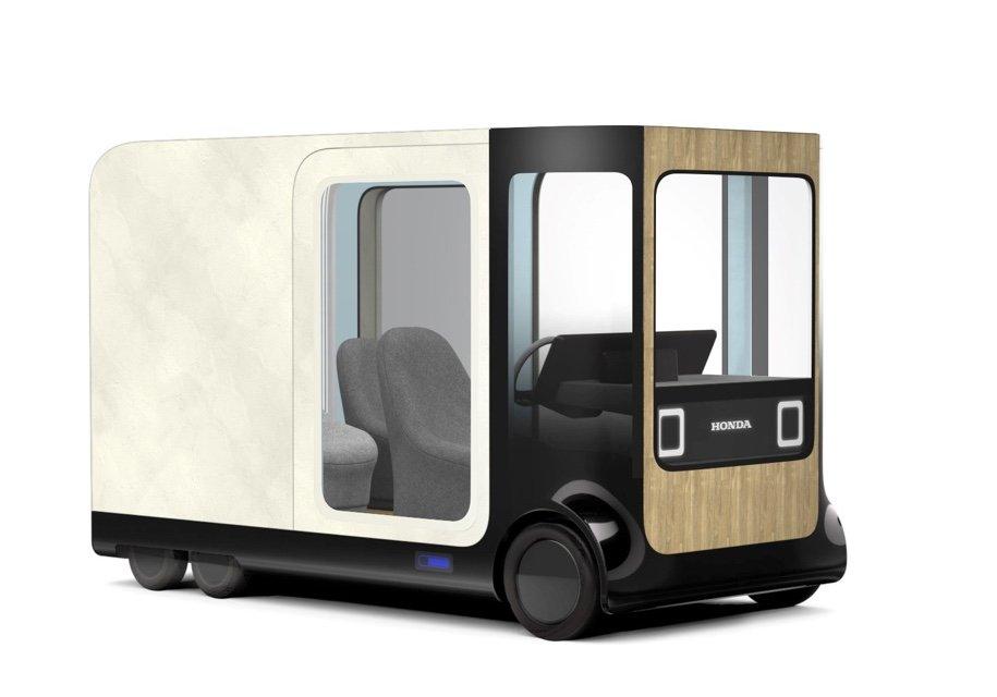 НаТокийском автомобильном салоне представили концепт-кар Хонда Ie-Mobi Concept