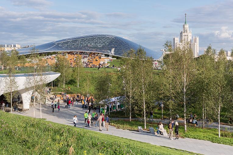 ЮНЕСКО восхитилось парком «Зарядье» вцентре столицы