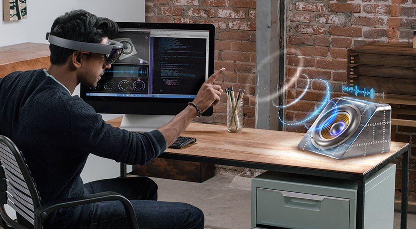 Новые студии компании создают голограммы Mixed Reality— Microsoft