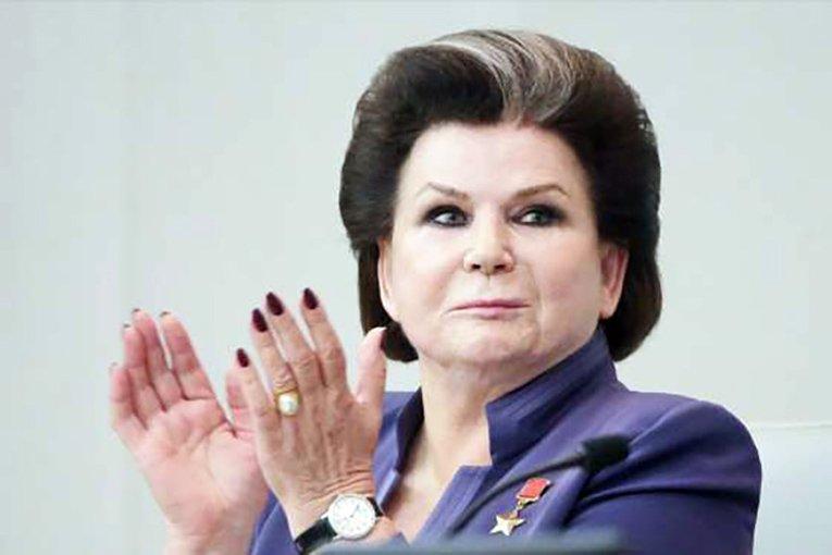 Первая вмире женщина-космонавт Валентина Терешкова удостоена высокой международной награды