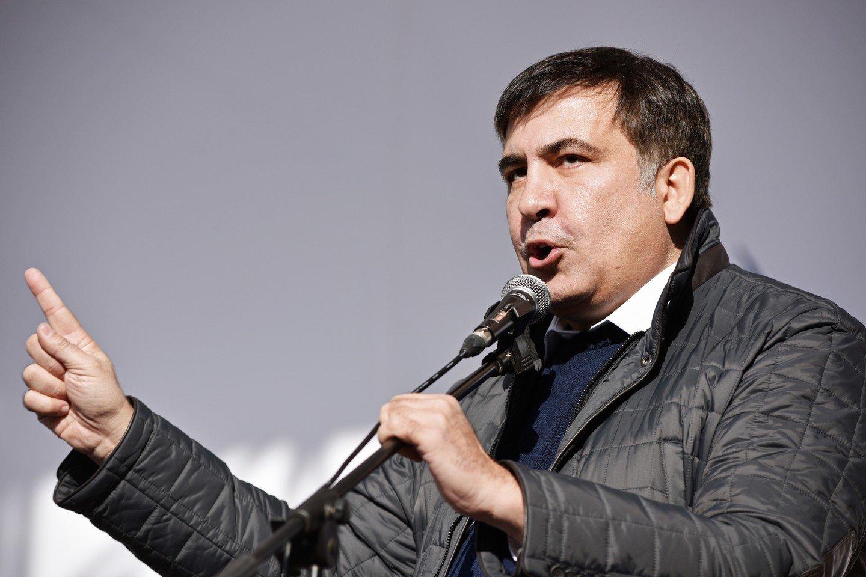 Саакашвили хочет  расширить список  требований кКиеву 28октября 2017 13:30