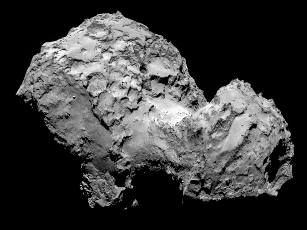 Ученым стала известна тайна появления странной «утиной» кометы Чурюмова-Герасименко