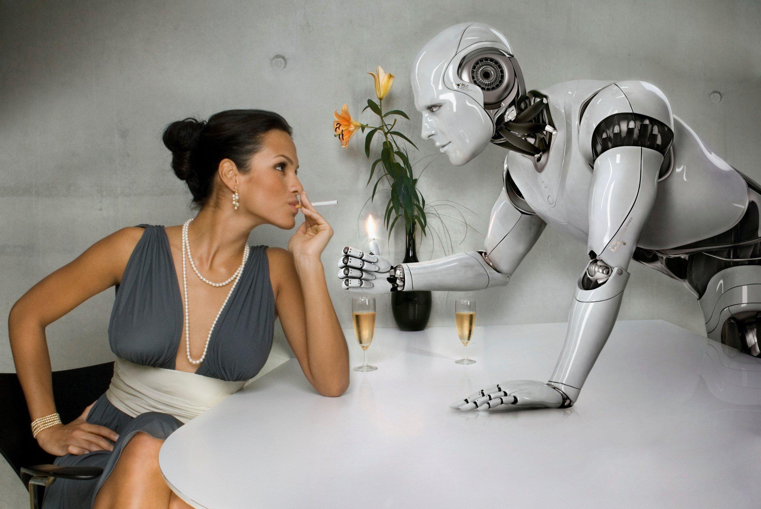 Занимаются сексом с роботом