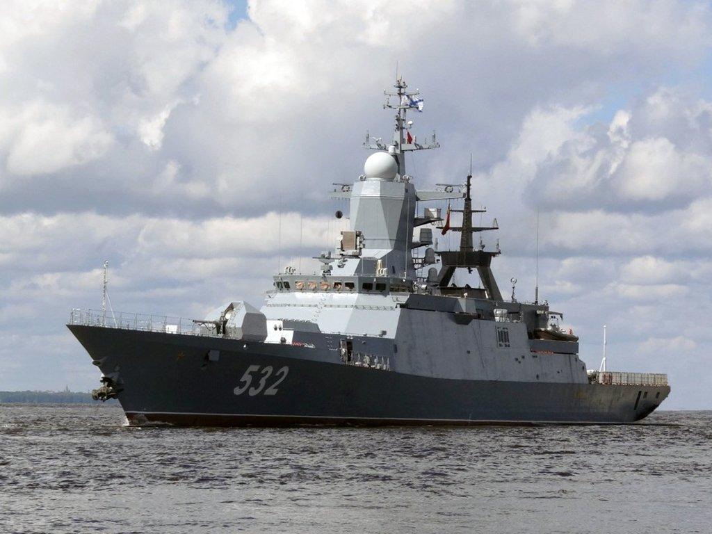 Группа кораблей Балтийского флота РФ вошла в Средиземное море