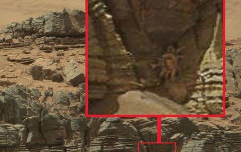 Уфологи отыскали наМарсе аномалию, подобную накота