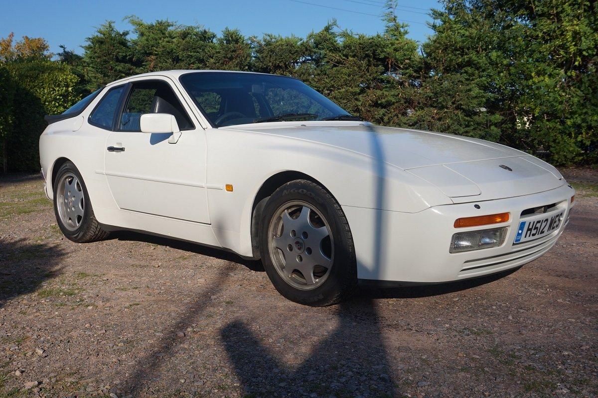 Редкостный спорткар Порше 944 S2 Coupe выставят нааукцион