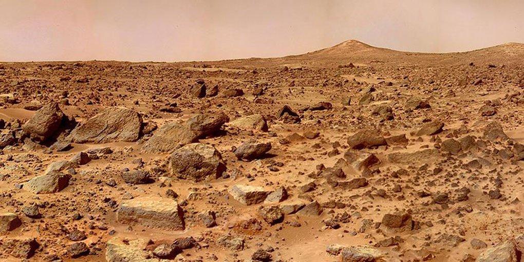 Ученые Летом на Марсе можно увидеть парящий песок