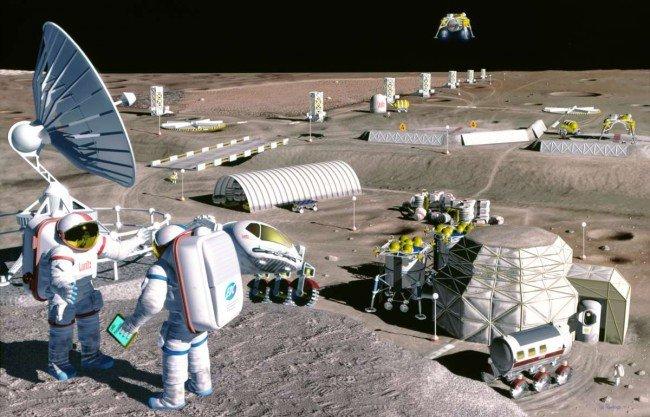 Томские ученые планируют принять участие впроектировке лунных баз