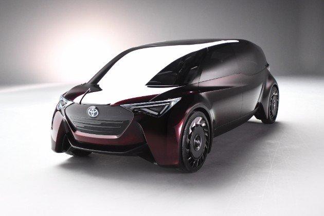 Для концепт-кара Тойота Fine Comfort Ride выбраны безвоздушные шины Sumitomo