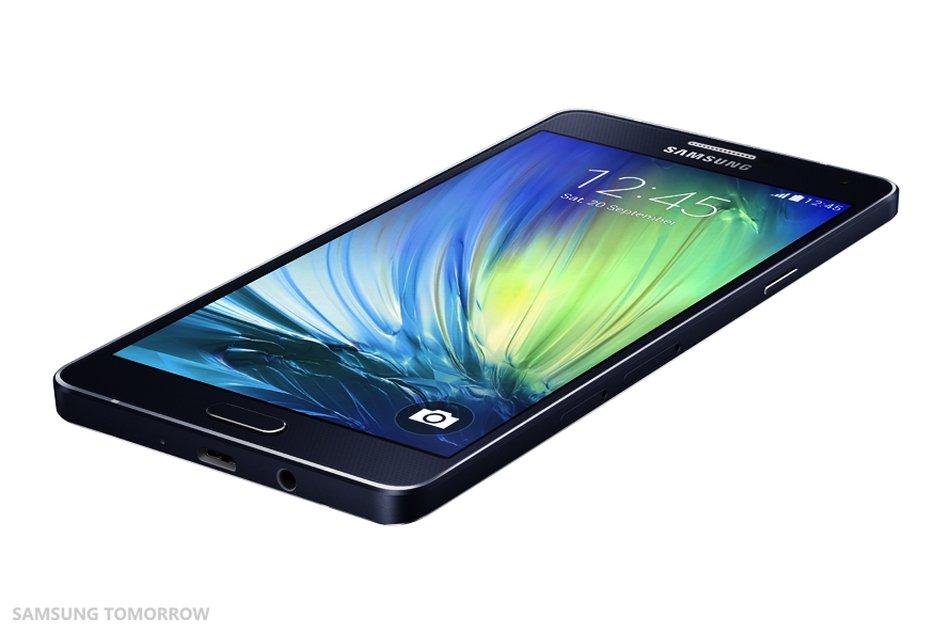 В России существенно упала цена на Samsung Galaxy A7